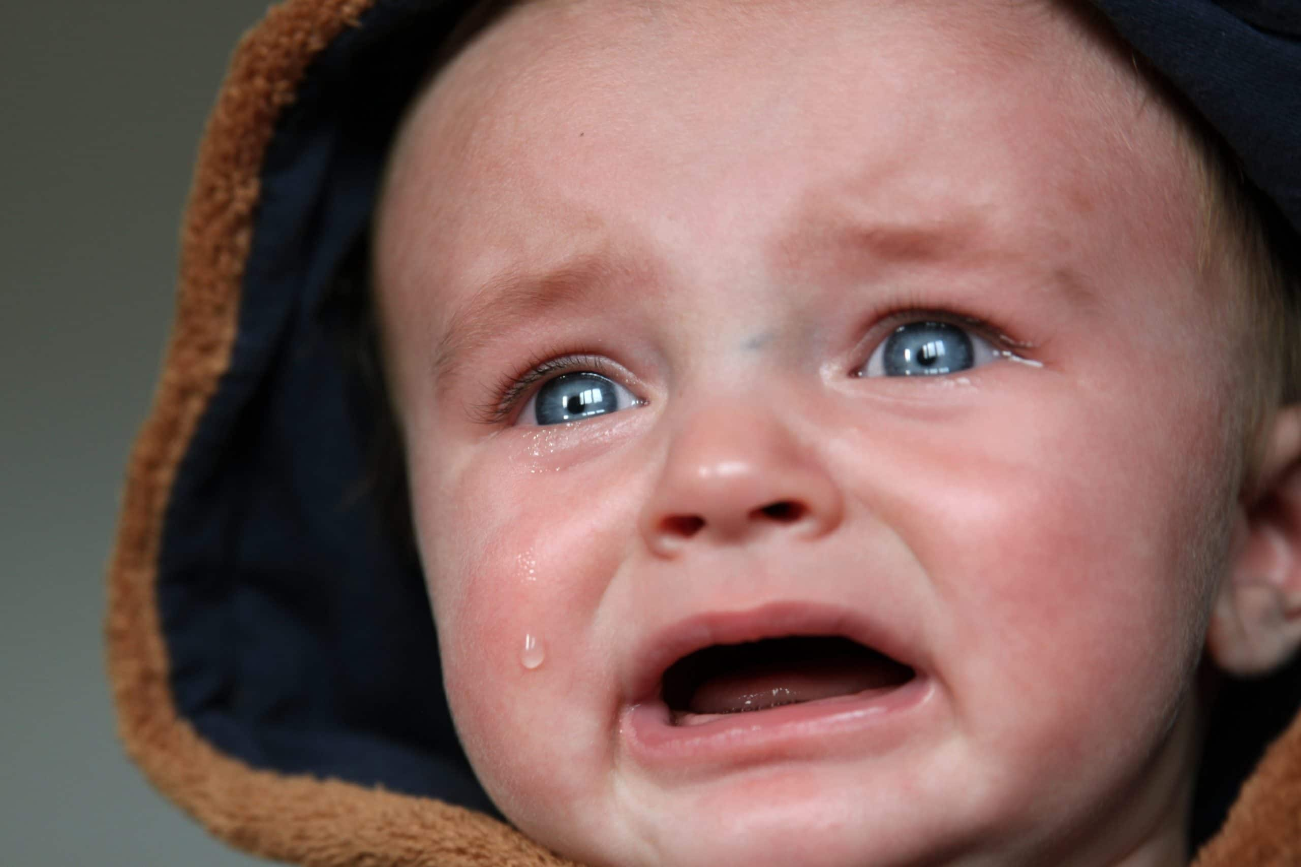 Toddler Crying Uncontrollably For No Reason