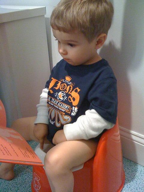 4 year old won't potty train