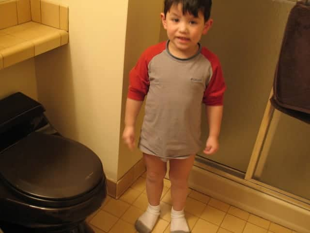 4 Year Old Poops In Pants And Doesn't Care