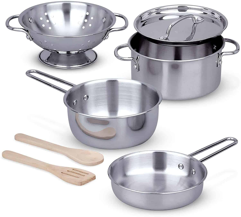 Melissa _ Dough Stainless Steel Pots
