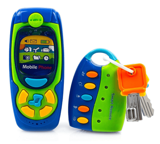 Toysery-Cell-Phone-And-Key-Toy-Set