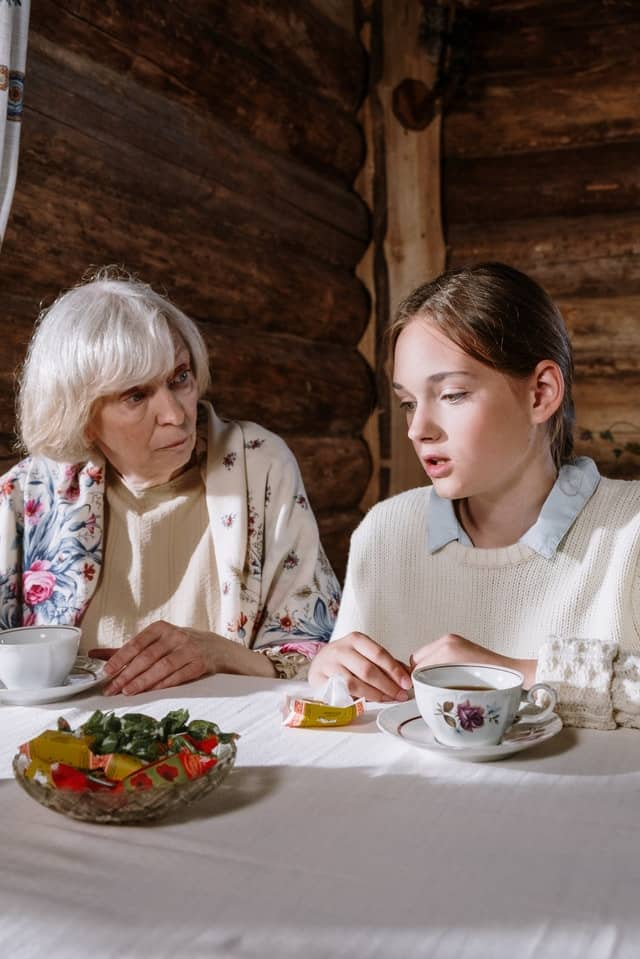 How to know that my granddaughter doesn't like me
