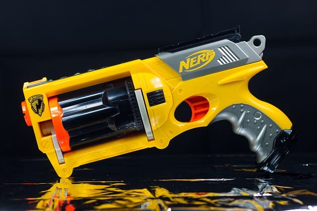 best nerf gun for 4 year old