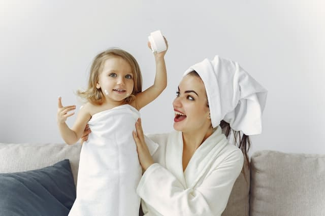 What To Do When Baby Cries After Bath