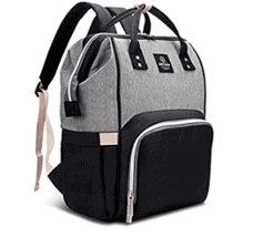 Hafmall-Diaper-Bag-Backpack-Waterproof-Large-Capacity