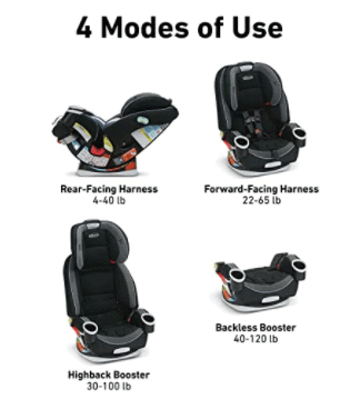 Graco-four-in-one-car-seat
