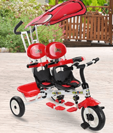 Costzon-4-in-1-push-trike-for-twins