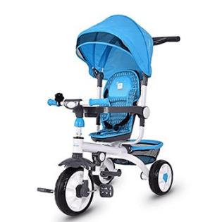 Costzon-4-in-1-steer-stroller-tricycle-bike