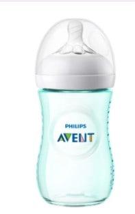 Phillips-Natural-Baby-Avent-Teal-Bottle