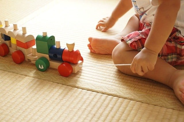how to clean foam play mats
