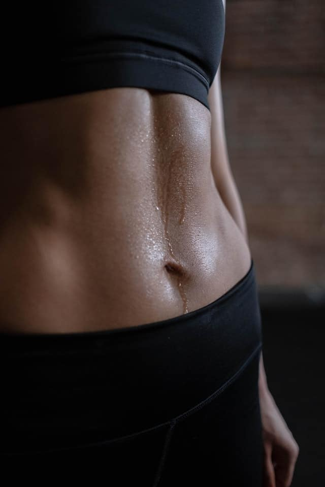 How to get rid of stomach crease lines