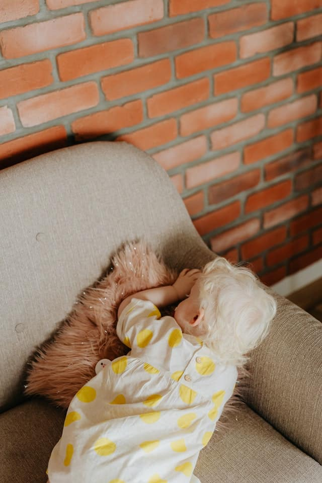 Baby Sleeps Face Down On Mattress